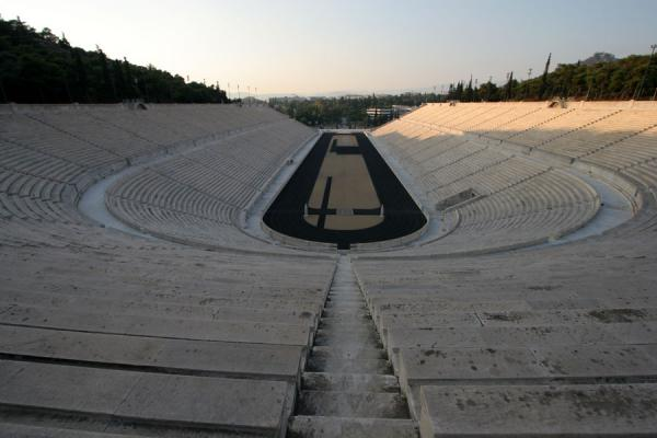 Looking down at Panathinaiko Stadium from the top | Panathinaiko Stadium | Greece