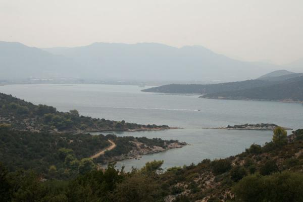 Picture of Poros (Greece): View from Poros towards the Peloponnesus