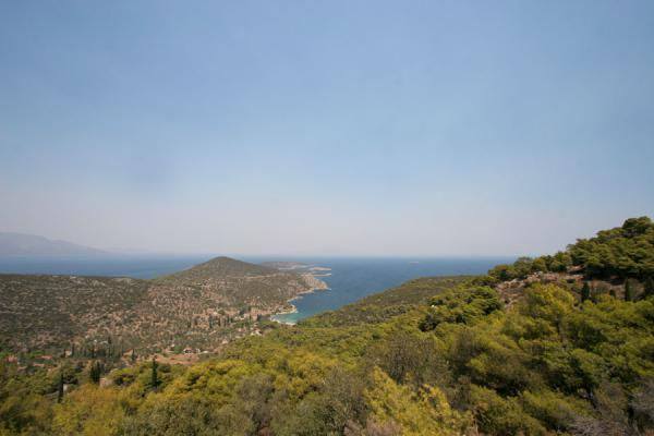Picture of Poros (Greece): View on the northern part of Poros island