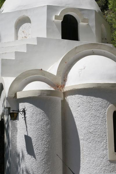 Detail of Zoodochou Pigi monastery | Poros | Greece