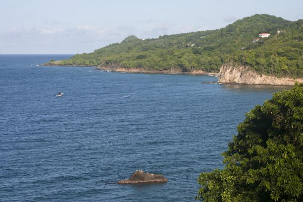 The coastline north of Carib Leap | Carib Leap | Grenada