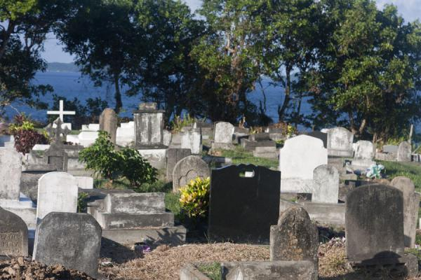 Picture of Carib Leap (Grenada): Cemetery just above the cliffs of Carib Leap