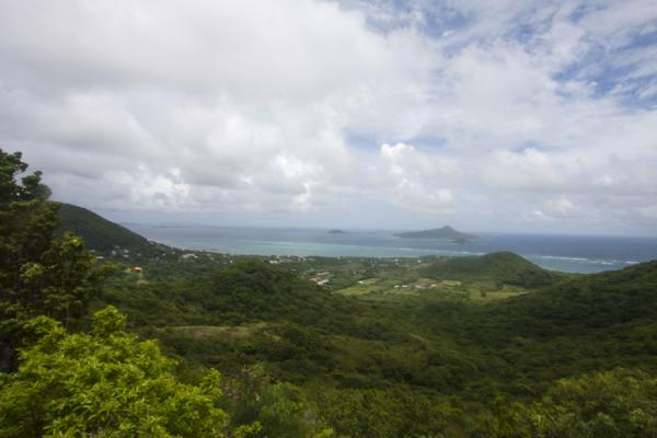View towards the west from the hills on Carriacou | Carriacou Island | Grenada