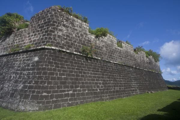 Inner wall of Fort Frederick | Fort Frederick | 葛瑞纳达