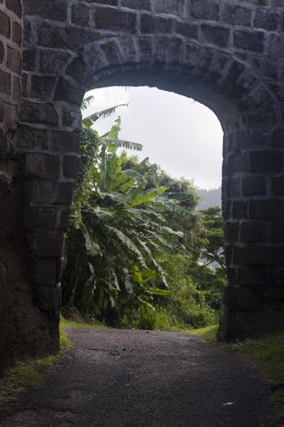 Gateway to Fort Frederick | Fort Frederick | Grenada