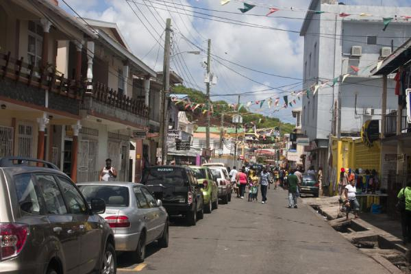 Picture of Grenville (Grenada): Street in Grenville