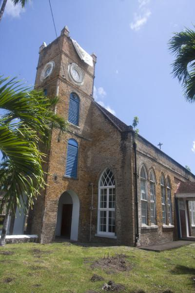 Picture of Grenville (Grenada): Church with bell tower in Grenville