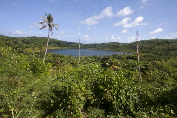 Foto van Grenada (Lake Antoine seen from a distance)