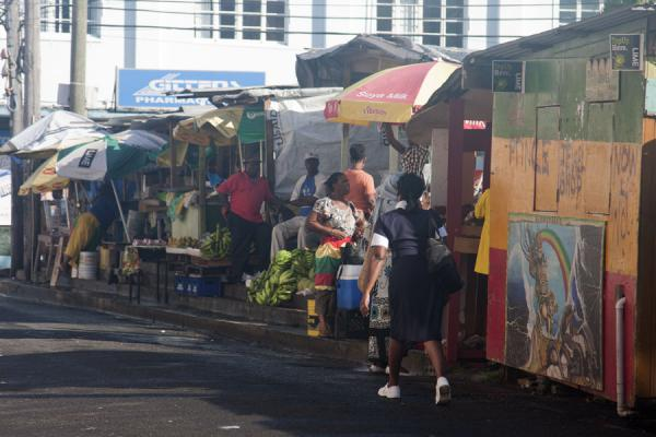 Picture of St. George's (Grenada): The bustling, compact market of St. George's