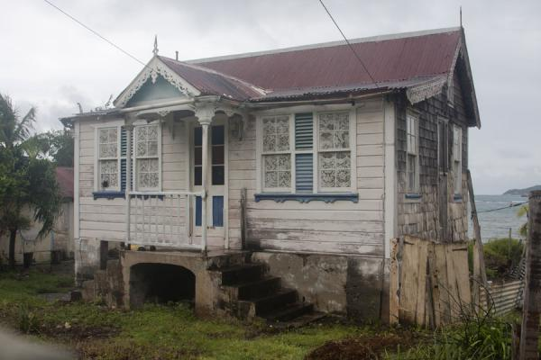 Prominent white building in Windward | Windward | Grenada
