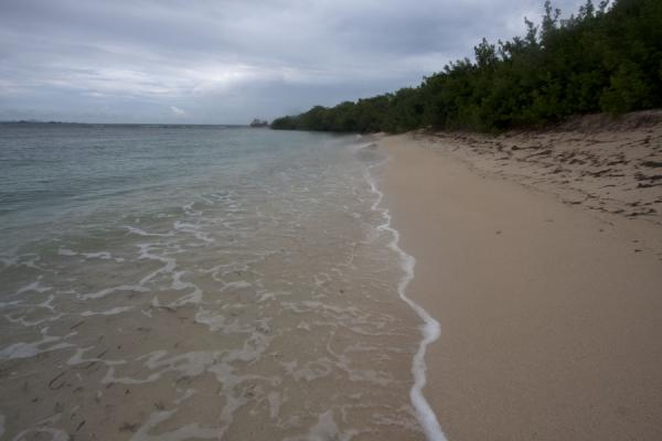 Picture of Windward (Grenada): Petite Carenage beach, north of Windward