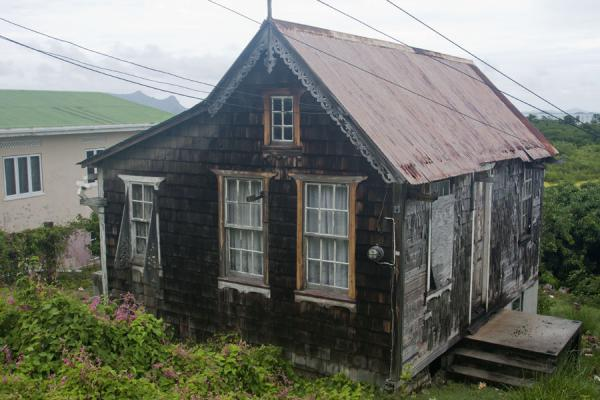 Picture of Windward (Grenada): Wooden house on the outskirts of Windward