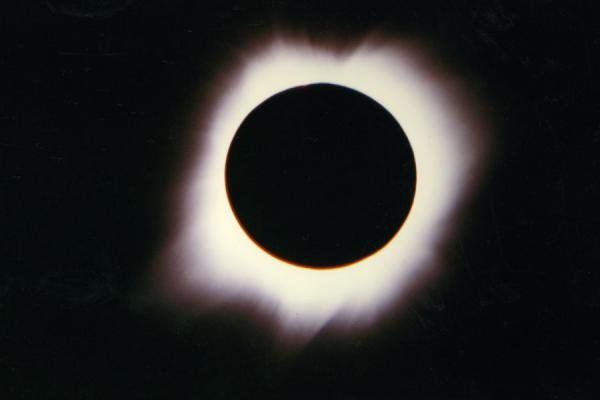 Foto van Guatemala (Eclipse of the sun in Guatemala)