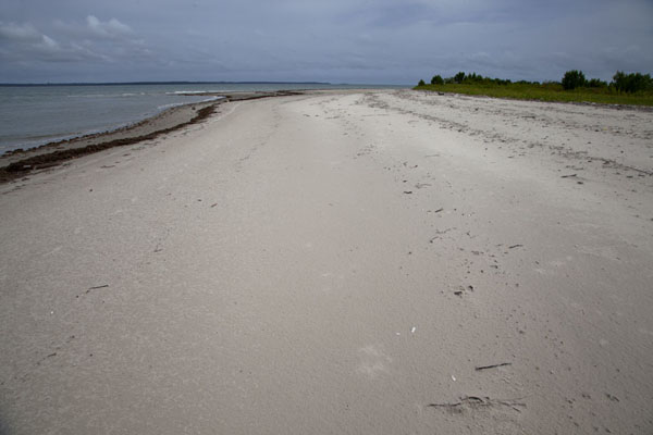 Foto di The white sands of Bruce beach on Bubaque island - Guinea-Bissau - Africa