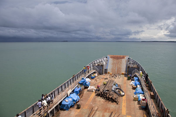 Foto di The ferry running to Bubaque islandBubaque - Guinea-Bissau