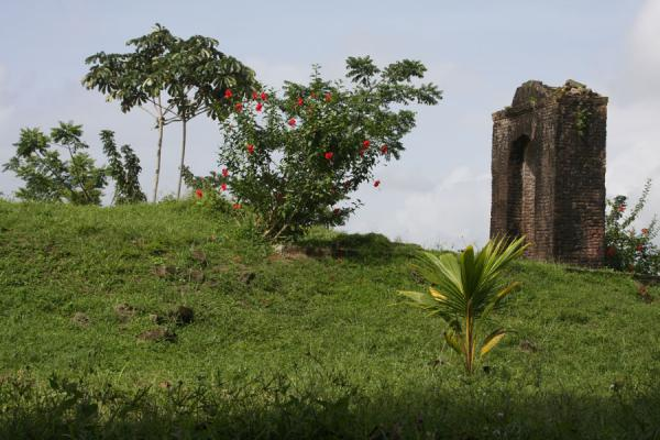 An arch is all that remains of Fort Kyk over Al | Fort Kyk over Al | Guyana