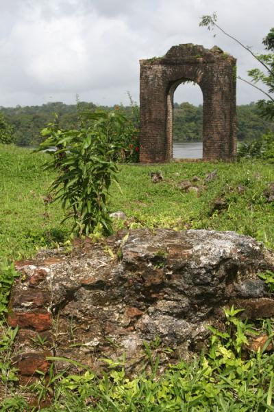 Fort Kyk over Al: it is near this place that the supposed tunnel starts | Fort Kyk over Al | Guyana