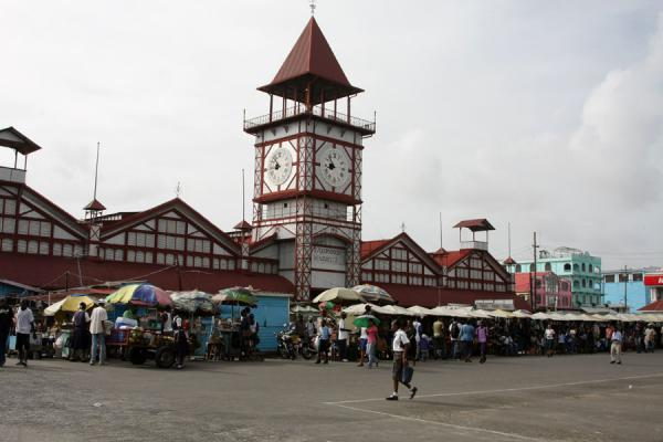 Picture of Stabroek market is the main market of Georgetown