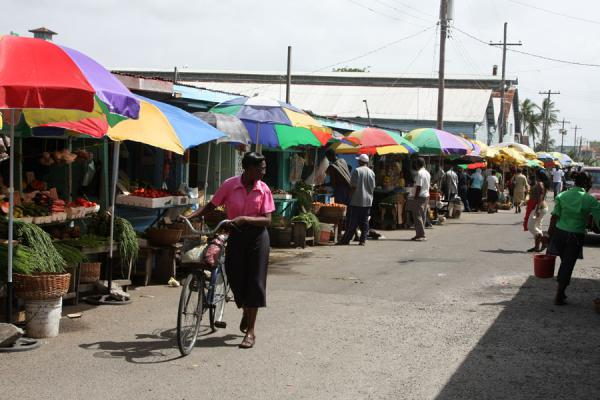 Picture of Bourda market in central GeorgetownGeorgetown - Guyana