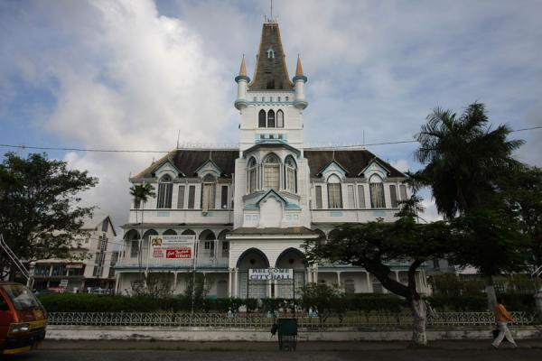 Picture of Remarkable City Hall of Georgetown - Guyana - Americas
