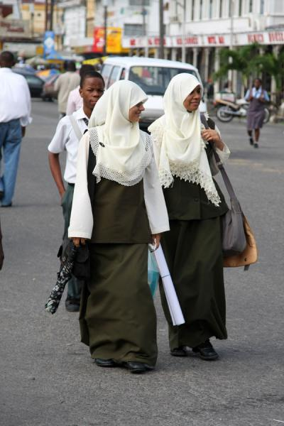 Muslim women in Georgetown | Guyanese people | Guyana