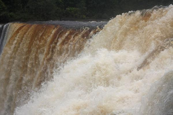 圭亚那 (Water speeding down Kaieteur Falls)