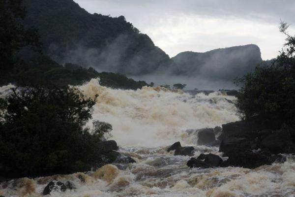 Amatuk Falls in the Potaro river in the early morning | Kaieteur overland | Guyana