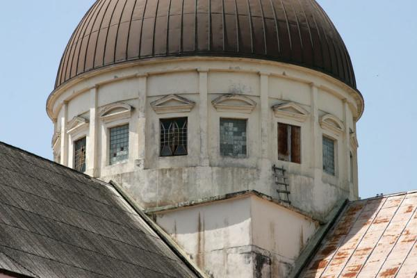 Close-up of cupola of the cathedral of Cap-Haïtien | Cap-Haïtien cathedral | Haiti
