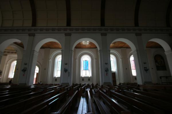 Picture of Cap-Haïtien cathedral (Haiti): Interior of Cap-Haïtien cathedral