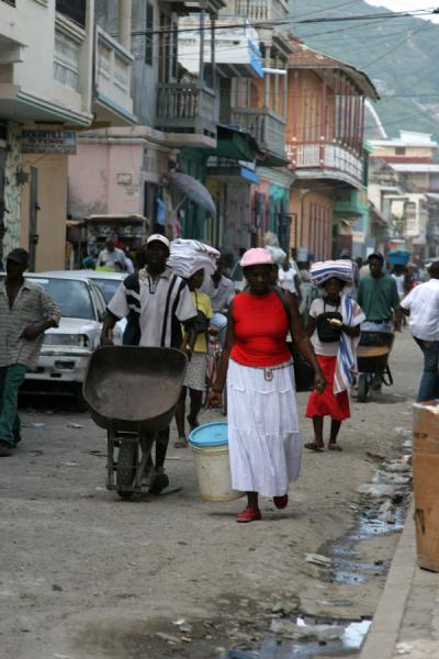 Photo de Streetlife in Cap HaïtienCap Haïtien - Haïti