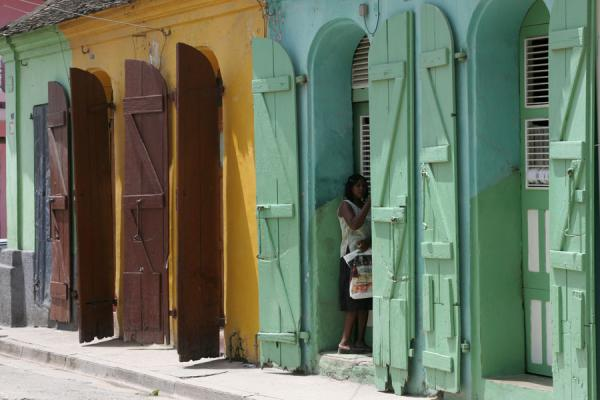 Colourful shutters make Cap-Haïtien a pretty town | Cap-Haïtien | Haiti