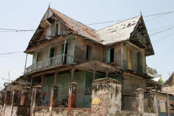 Typical gingerbread house in Cap-Haïtien | Cap-Haïtien | Haiti