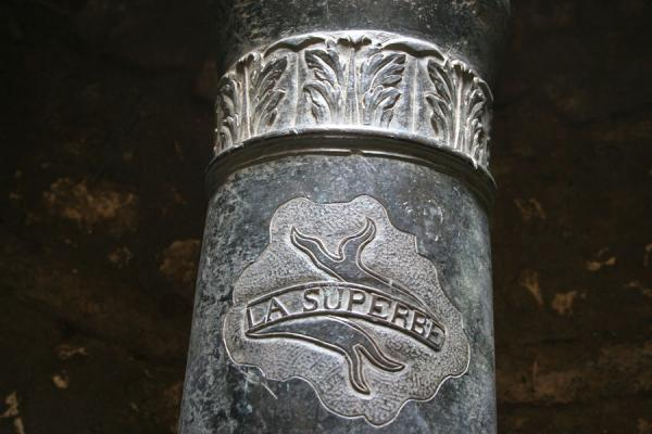 Picture of Detail of cannon in the Citadelle la FerrièreCitadelle La Ferrière - Haiti