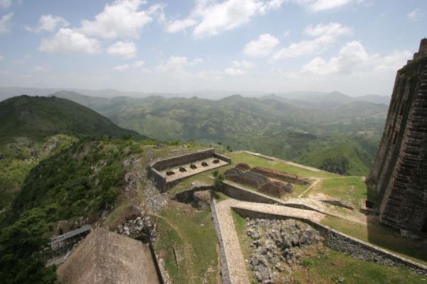 View from the roof of the Citadelle la Ferrière | Citadelle La Ferrière | Haiti