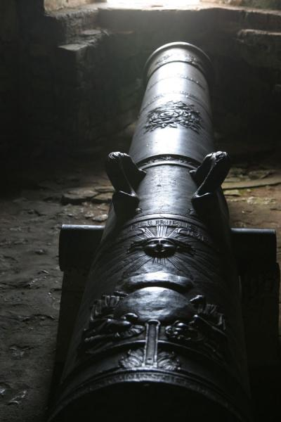 Picture of Cannon of the Citadelle la Ferrière: ready for the enemy - Haiti - Americas