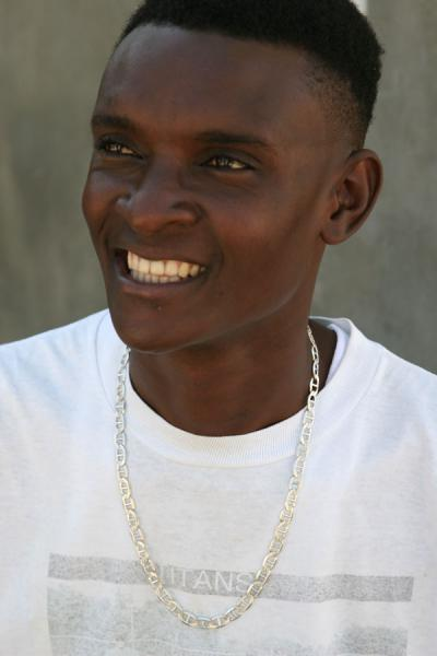 Picture of Haitian guy with a perfect smile