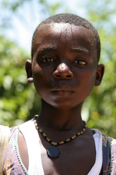 Picture of Haitian boy posing for his picture to be taken | Travel ...
