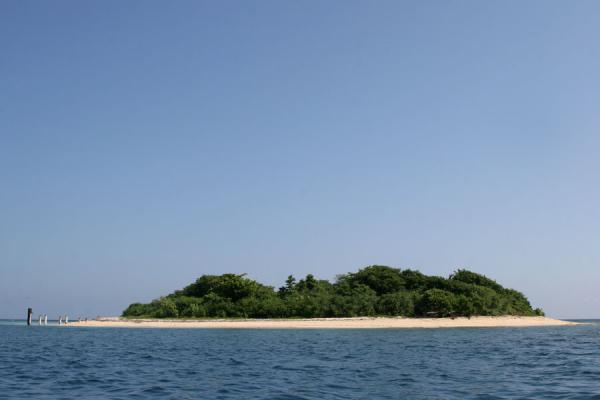 Picture of Ile à Rats or Isla Amiga just before arriving - Haiti - Americas