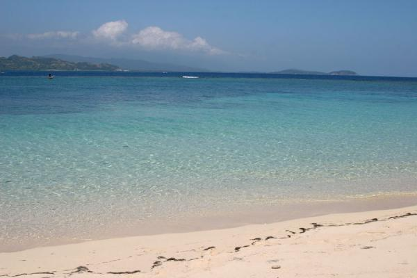 Picture of White beach and turquoise water of Ile à RatsLabadie - Haiti