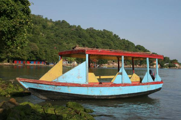 Watertaxi in Labadie: In God we trust |  | 海地