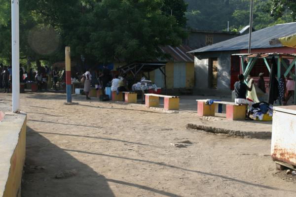 One of the small squares in Labadie where people gather | Labadie | Haïti