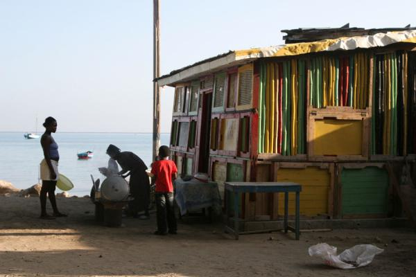 One of the shacks of Labadie |  | 海地