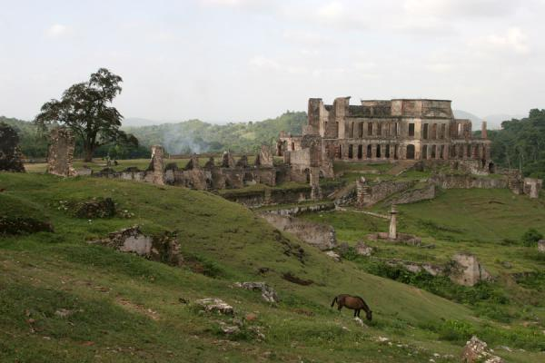 Picture of Palace Sans-Souci (Haiti): Ruins of Sans-Souci Palace near Milot