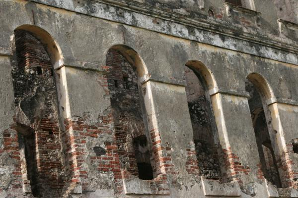 Close-up of the Palace Sans-Souci | Palace Sans-Souci | Haiti