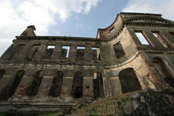 Picture of Palace Sans-Souci (Haiti): One part of Palace Sans-Souci