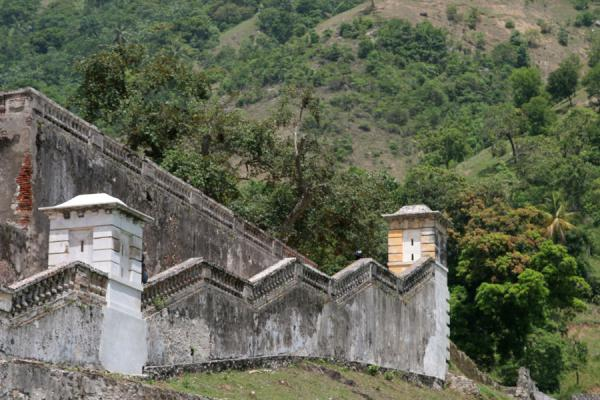 Picture of Detail of Palace Sans-SouciMilot - Haiti