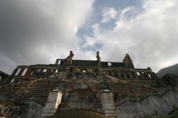 Palace Sans-Souci rising towards the sky | Palace Sans-Souci | Haiti