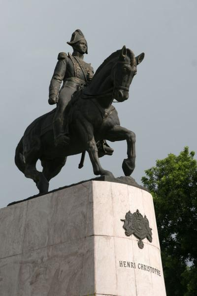 Statue in memory of Henri Christophe at Champs de Mars | Port-au-Prince | Haiti