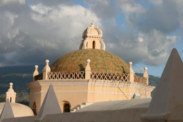 Picture of Comayagua (Honduras): Comayagua: chapel of the Cathedral of Santa María from outside