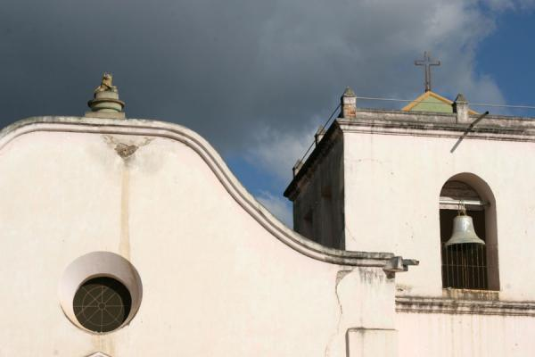 Picture of Comayagua (Honduras): Comayagua: detail of San Francisco church